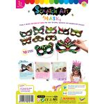 Scratch Art Mask Kit - Pack of 10