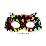 Scratch Art Boys' Mask - Bat