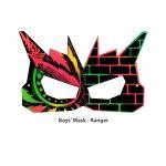 Scratch Art Boys' Mask - Ranger