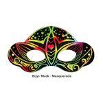Scratch Art Boys' Mask - Masquerade