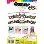 Scratch Art Mask Kit - Pack of 5