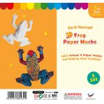 3D Animal Paper Mache - Pack of 5 - Frog