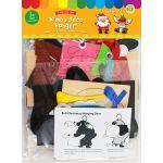 Felt Christmas Deco Hanger Kit - Pack of 5