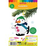 Felt Christmas Deco Hanger Kit - Snowman