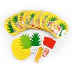 Pineapple Hanging Deco - Pack of 10