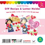 Mother's Letter and Recipe Holder - Pack of 10