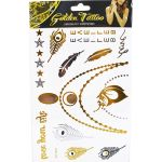 Temporary Fashion Glitter Tattoo - Large Mix - Pack of 5