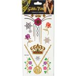 Temporary Fashion Glitter Tattoo - Medium Mix - Pack of 5