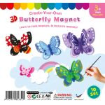 3D Butterfly Magnet - Pack of 10