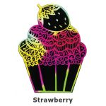 Scratch Art Cupcake - Strawberry