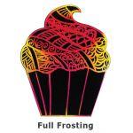 Scratch Art Cupcake - Full Frosting