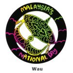 Scratch Art Merdeka - Wau / Traditional Malay Kite