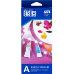 Acrylic Colour Set - 12 x 12ml Tubes - Box Front