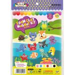 Foam Clay Magnet Kit - Packaging Front