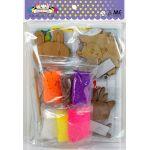 Foam Clay Magnet Kit - Packaging Back