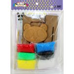 Foam Clay Photo Frame Kit - Packaging Back