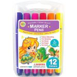 KS Marker Pen Set - 12 Colours