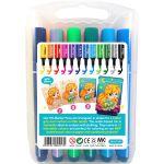 KS Marker Pen Set - 12 Colours - Back