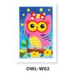 Creative Sand Art - Barn Owls - OWL-W02