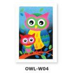 Creative Sand Art - Barn Owls - OWL-W04