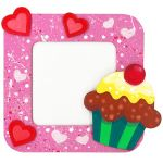 DIY 3D Photo Frame Kit - Cupcake