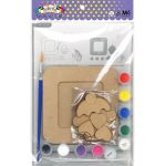 DIY 3D Photo Frame Kit - Cupcake - Packaging Back