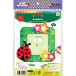 DIY 3D Photo Frame Kit - Ladybird - Packaging Front