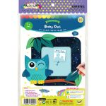 DIY 3D Photo Frame Kit - Baby Owl - Packaging Front