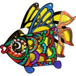 Animal Lantern With LED Light Kit - Fish