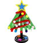 DIY Popsicle Sticks Christmas Tree - Pack of 10