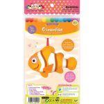 Felt Seaworld Plushie Kit - Clownfish - Packaging Front