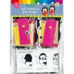 Felt Mother's Day Hanger Pack of 5 - Packaging Back