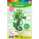 Felt Seaworld Plushie Kit - Seahorse