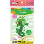 Felt Seaworld Plushie Kit - Seahorse - Packaging Front