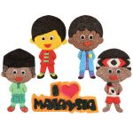 Merdeka Boy Magnet Pack of 5