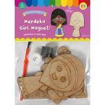 Merdeka Girl Magnet Pack of 5 - Packaging Front
