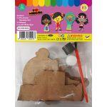 Merdeka Girl Magnet Pack of 5 - Packaging Back