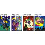 Sand Art Witches and Wizards - Large
