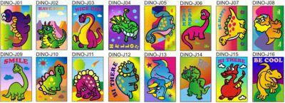 Sand Art Dinosaur and Dragon - Medium