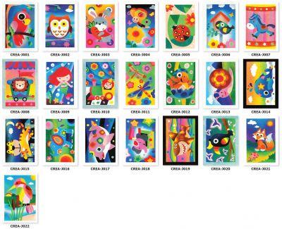 Creative Sand Art Cards - Medium/Large