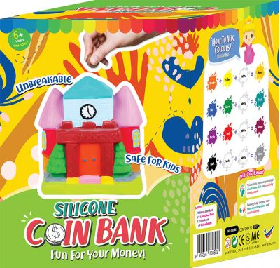 Silicone Coin Bank Painting Series E - Packaging Back