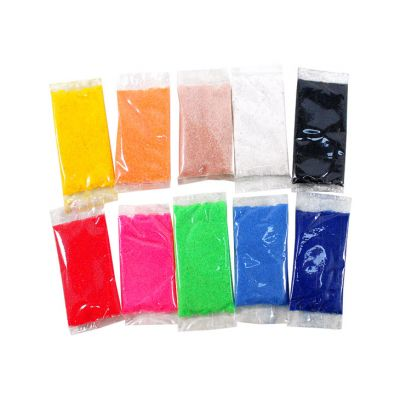 10-in-1 Colour Sand Satchets - Pack of 20