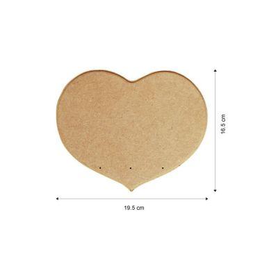 MDF Plaque 6mm (Heart)