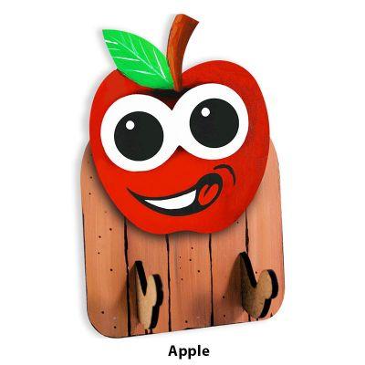 3D Fruit Key Hanger - Apple