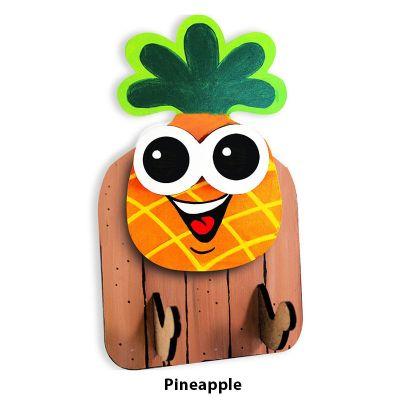 3D Fruit Key Hanger - Pineapple