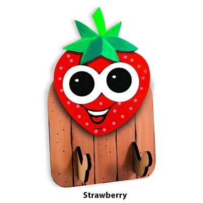 3D Fruit Key Hanger - Strawberry
