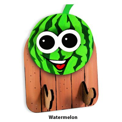 3D Fruit Key Hanger - Watermelon