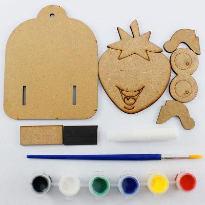 3D Fruit Key Hanger Kit - Content