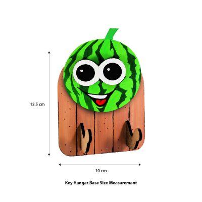 3D Fruit Key Hanger - Size