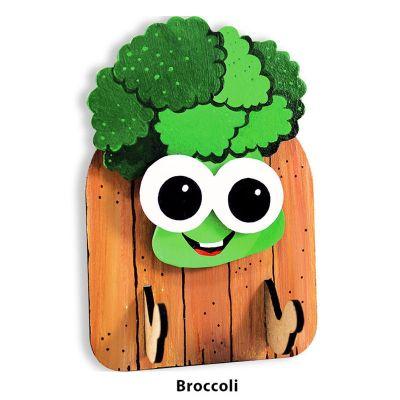 3D Vegetable Key Hanger - Broccoli